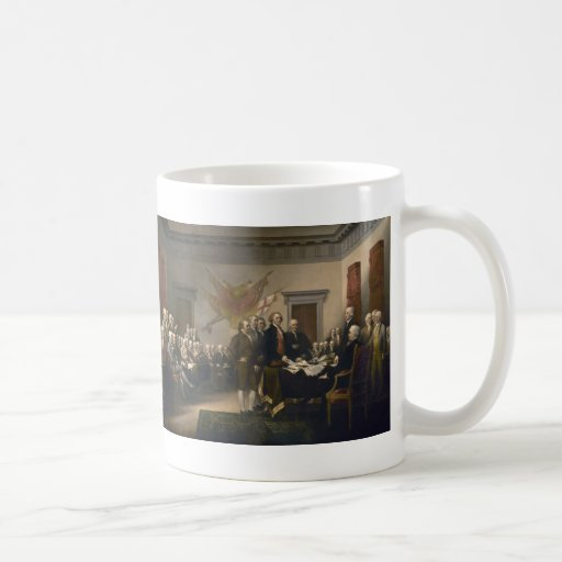 Signing of the Declaration of Independence Mug