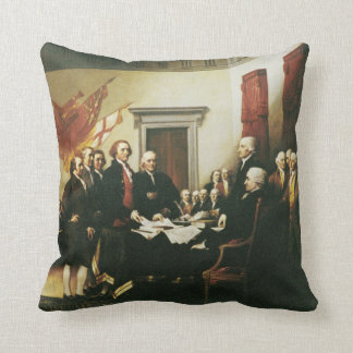 SIGNING OF THE DECLARATION OF INDEPENDENCE PILLOWS