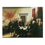 SIGNING OF THE DECLARATION OF INDEPENDENCE POST CARDS
