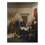 Signing of the Declaration of Independence Post Card