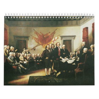 SIGNING OF THE DECLARATION OF INDEPENDENCE CALENDAR