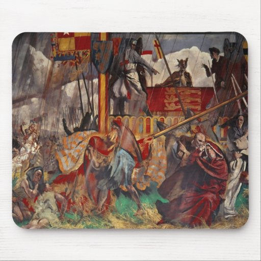 Signing of the Magna Carta, 1215 Mouse Pad