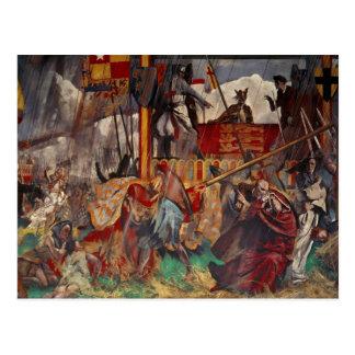 Signing of the Magna Carta, 1215 Postcard