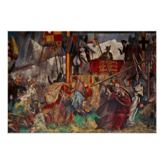 Signing of the Magna Carta, 1215 Poster