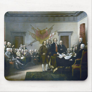 Signing The Declaration Of Independance Mousepad