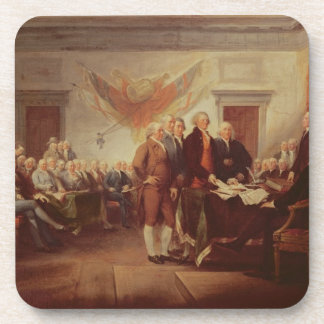 Signing the Declaration of Independence, 4th Beverage Coaster