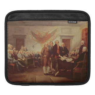 Signing the Declaration of Independence, 4th iPad Sleeve