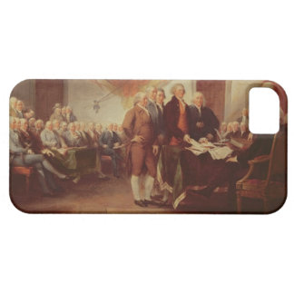 Signing the Declaration of Independence, 4th iPhone SE/5/5s Case