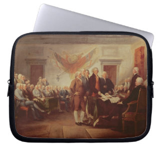 Signing the Declaration of Independence, 4th Laptop Sleeves