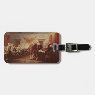 Signing the Declaration of Independence, 4th Luggage Tag