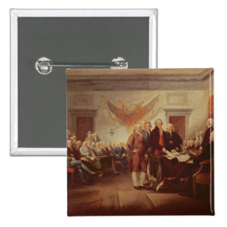 Signing the Declaration of Independence, 4th Pinback Button