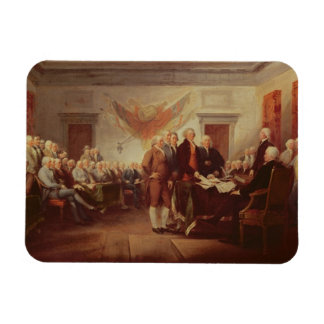 Signing the Declaration of Independence, 4th Rectangular Photo Magnet