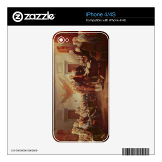 Signing the Declaration of Independence, 4th Skin For iPhone 4