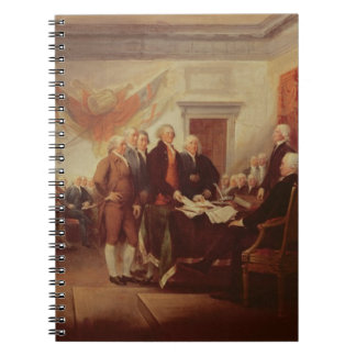 Signing the Declaration of Independence, 4th Spiral Notebook