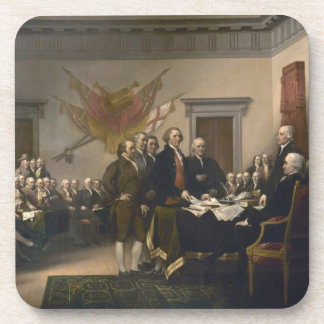 Signing the Declaration of Independence, July 4th Drink Coaster