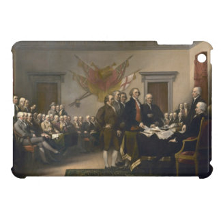 Signing the Declaration of Independence, July 4th iPad Mini Cases