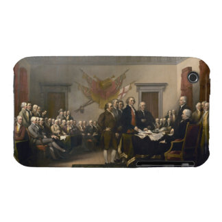 Signing the Declaration of Independence, July 4th iPhone 3 Case