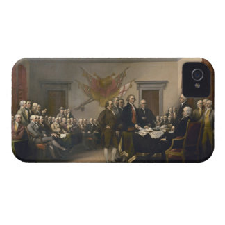 Signing the Declaration of Independence, July 4th iPhone 4 Cover