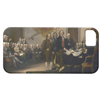 Signing the Declaration of Independence, July 4th iPhone SE/5/5s Case