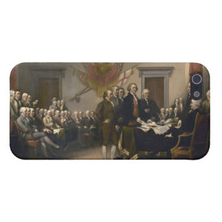 Signing the Declaration of Independence, July 4th iPhone SE/5/5s Cover