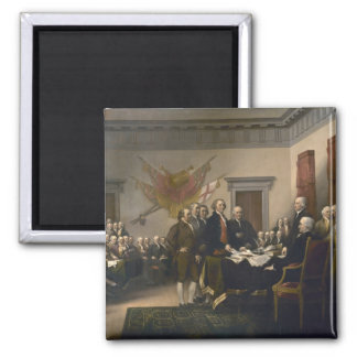 Signing the Declaration of Independence, July 4th Magnet