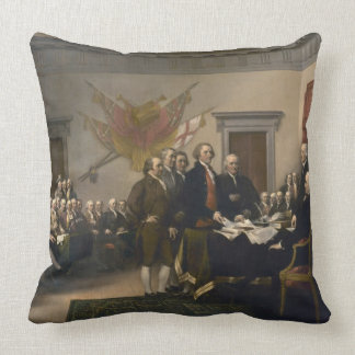 Signing the Declaration of Independence, July 4th Pillows