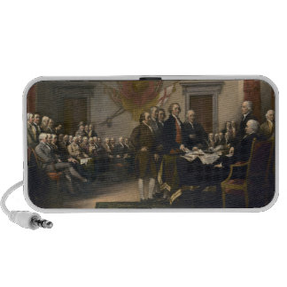 Signing the Declaration of Independence July 4th Portable Speakers