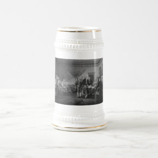 Signing The Declaration of Independence 18 Oz Beer Stein