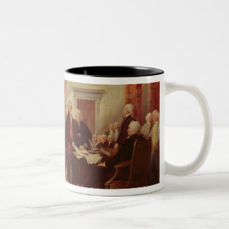 Signing the Declaration of Independence Mugs
