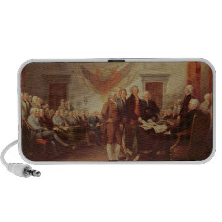 Signing the Declaration of Independence Speaker
