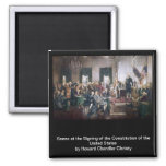 Signing the US Constitution by Christy Fridge Magnets
