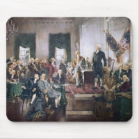 Signing the US Constitution by Christy