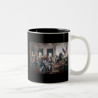 Signing the US Constitution by Christy Coffee Mugs