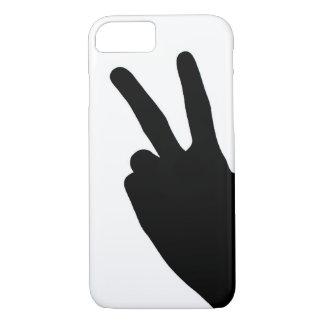 Signo de la paz a mano funda iPhone 7