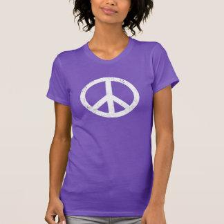 Signo de la paz apenado playera