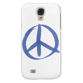 Signo de la paz azul