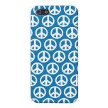 signo de la paz azul 4G iPhone 5 Cárcasa