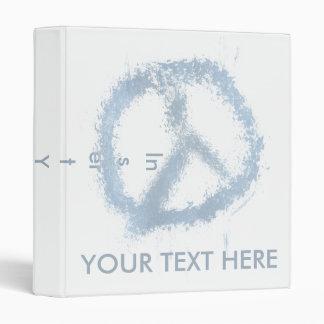 """Signo de la paz azul del Grunge Carpeta 1"""""""