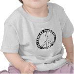 Signo de la paz claro camiseta