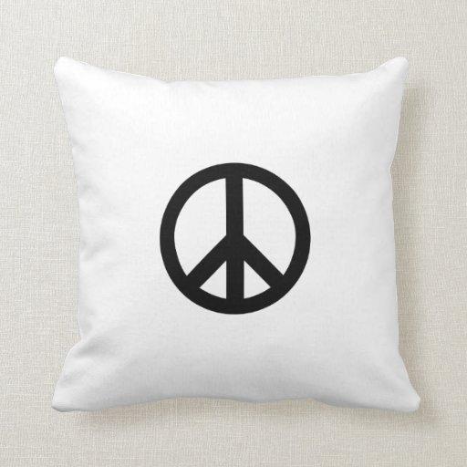 Signo de la paz almohada