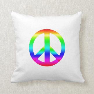 Signo de la paz cojin