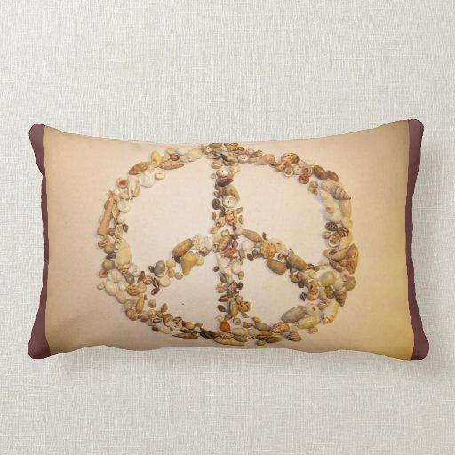 Signo de la paz cojín