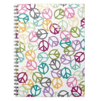 Signo de la paz cuaderno