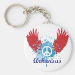 Signo de la paz de Arkansas Llavero