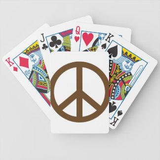 Signo de la paz de Brown Barajas