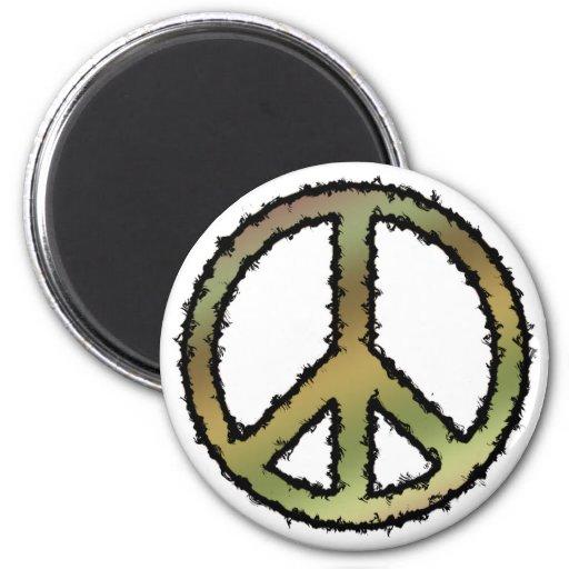 Signo de la paz de Camo Imanes