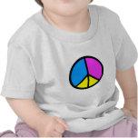 Signo de la paz de CMYK Camiseta
