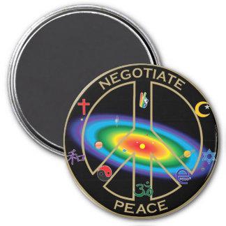 signo de la paz de la Sistema Solar Imán Para Frigorífico