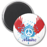 Signo de la paz de Maine Iman