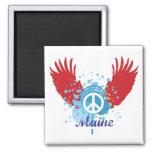 Signo de la paz de Maine Imanes